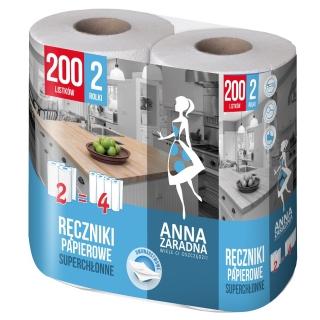 Ręczniki papierowe - 100 listków - 2 rolki