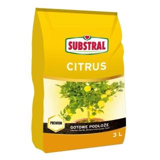 Podłoże do cytrusów - Substral - 3 l