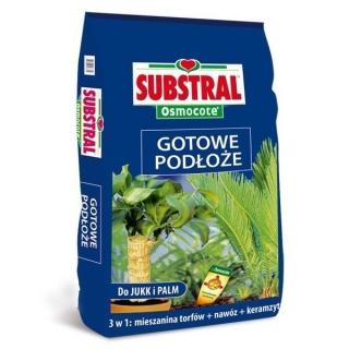 Gotowe podłoże do jukk i palm - pełen zestaw składników podłoża - Substral - 5 litrów