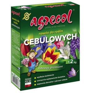 Nawóz do roślin cebulowych i bylin - Agrecol - 1,2 kg