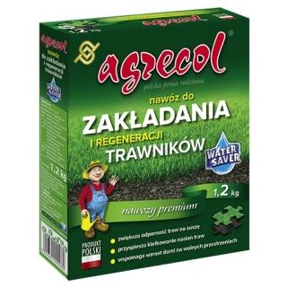Nawóz do zakładania i regeneracji trawników - Agrecol - 1,2 kg