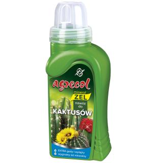Nawóz w formie wydajnego żelu do kaktusów - Agrecol - 250 ml