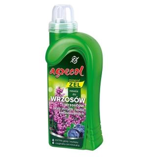Nawóz w formie wydajnego żelu do wrzosów i wrzośców - Agrecol - 500 ml