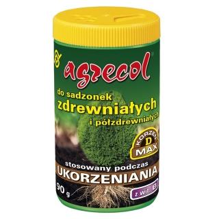 Ukorzeniający nawóz do sadzonek zdrewniałych i półzdrewniałych - Agrecol - 90 g