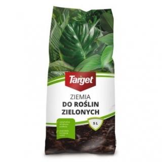 Podłoże do roślin zielonych - Target - 5 litrów