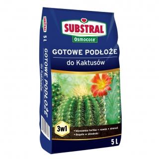 Podłoże do kaktusów - Substral - 5 litrów