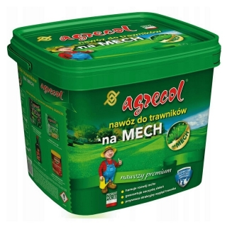 Nawóz do trawników - zwalcza mech - Agrecol - 10 kg
