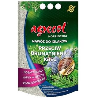 Hortifoska do iglaków przeciw brązowieniu igieł - łatwy w użyciu i skuteczny nawóz - Agrecol - 1 kg