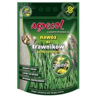 Hortifoska do trawników zachwaszczonych - łatwy w użyciu i skuteczny nawóz - Agrecol - 1 kg