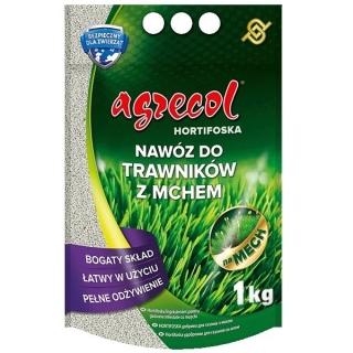 Hortifoska do trawników z mchem - łatwy w użyciu i skuteczny nawóz - Agrecol - 1 kg