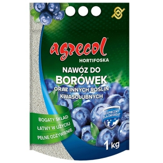Hortifoska do borówek - łatwy w użyciu i skuteczny nawóz - Agrecol - 1 kg