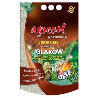Hortifoska jesienna do iglaków - łatwy w użyciu i skuteczny nawóz - Agrecol - 1 kg