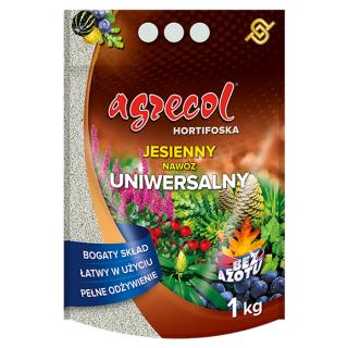 Hortifoska jesienna uniwersalna - łatwy w użyciu i skuteczny nawóz - Agrecol - 1 kg