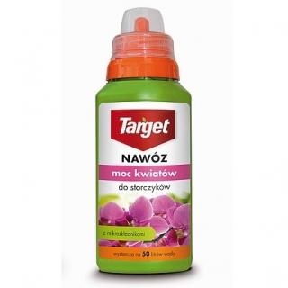 Nawóz w płynie do storczyków - Moc Kwiatów - Target - 250 ml