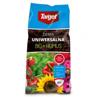 Podłoże uniwersalne z biohumusem - Target - 20 litrów