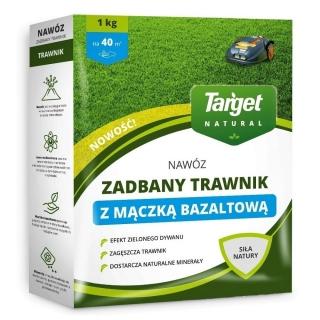 Nawóz granulowany z mączką bazaltową - Zadbany Trawnik - Target - 1 kg