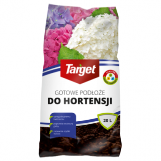 Podłoże do hortensji - wzmaga wybarwienie roślin - Target - 20 l