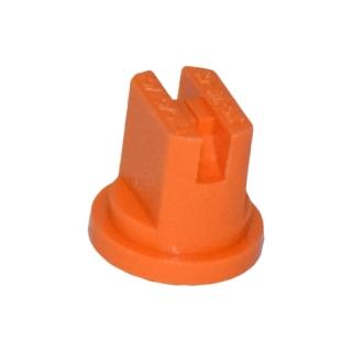 Dysza do opryskiwacza, rozpylacz płaskostrumieniowy UF-01 - rozszerzony zakres ciśnienia - pomarańczowy - Kwazar
