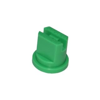 Dysza do opryskiwacza, rozpylacz płaskostrumieniowy UF-015 - rozszerzony zakres ciśnienia - zielony - Kwazar