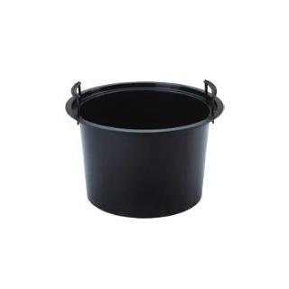 Wkład okrągły - do doniczek o średnicy 30 cm - czarny