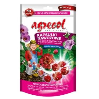 Kapsułki nawozowe do roślin kwitnących - wygodne i wydajne - Agrecol - 18 szt.
