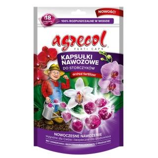 Kapsułki nawozowe do storczyków - wygodne i wydajne - Agrecol - 18 szt.