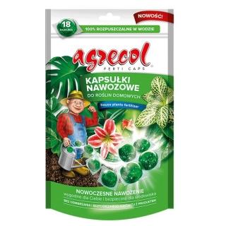 Kapsułki nawozowe do roślin domowych - wygodne i wydajne - Agrecol - 18 szt.