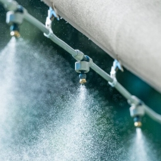 Kurtyna wodna, mgiełka - kompletny zestaw do montażu - 15 m - CELLFAST