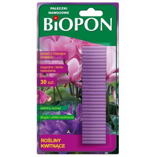 Pałeczki nawozowe do roślin kwitnących - Biopon - 30 szt.