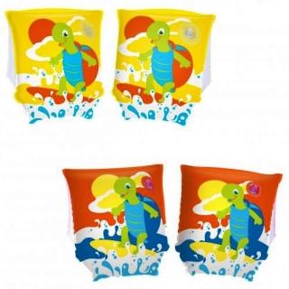 Rękawki dmuchane - Żółw - 23 x 15 cm