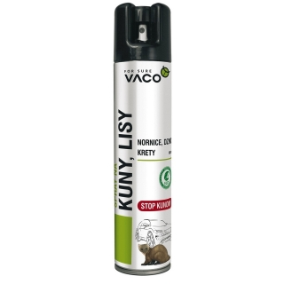 Eko odstraszacz w sprayu na kuny, lisy, nornice, dziki i krety - 300 ml
