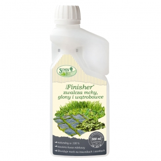 Finisher - zwalcza mchy, glony i wątrobowce - na trawniki i ścieżki - Sumin - 500 ml