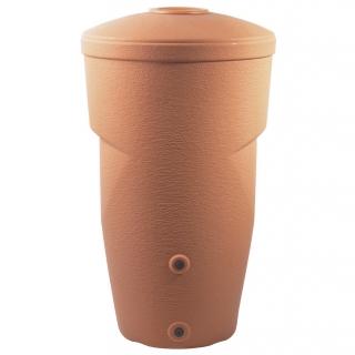 Zbiornik na deszczówkę, pojemnik na wodę - Wallycan - 270 litrów - kolor ceglany - DOSTAWA GRATIS!
