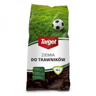 Ziemia do trawników - doskonała do zakładania i regeneracji trawnika - Target - 50 litrów
