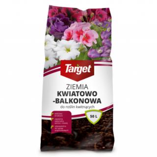 Ziemia kwiatowo-balkonowa - Target - 10 litrów