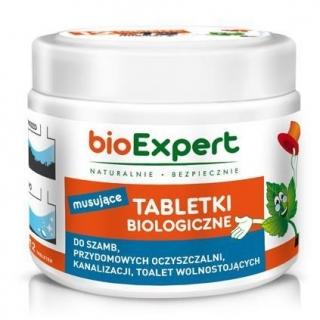 Tabletki biologiczne do szamb, przydomowych oczyszczalni i kanalizacji - BioExpert - 12 sztuk (na 6 miesięcy)