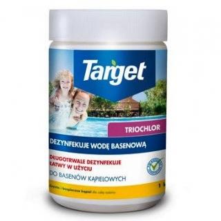 Triochlor - środek do skutecznej dezynfekcji wody w basenie - 50 tabletek - 1 kg