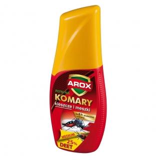 Płyn DEET na komary, kleszcze i meszki - działa do 8h - Arox - 50 ml