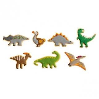 Wykrawacze dinozaury - DELÍCIA KIDS - 7 szt.