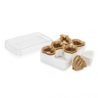 Wykrawacze do kruchych ciasteczek - DELÍCIA - motyw zimowy - 6 szt.
