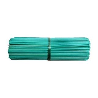 Patyczki z bambusa obrabianego - zielone - 60 cm - 10 szt.