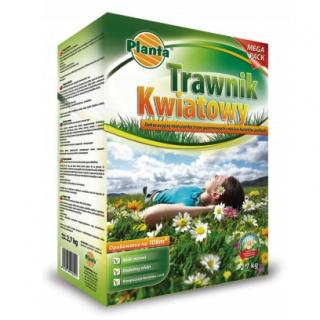 Trawnik kwiatowy - mieszanka traw gazonowych oraz kwiatów - 10,8 kg - na 432 m²