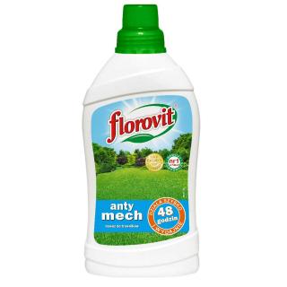 Nawóz do trawników zwalczający mech - anty-mech - Florovit - 1 litr