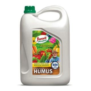 Nawóz organiczno-mineralny z humusem - uniwersalny - Pro Natura - Florovit - 5 litrów
