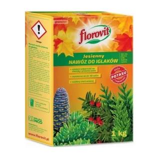 Nawóz jesienny do iglaków - Florovit - 1 kg