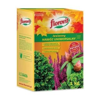 Nawóz jesienny uniwersalny - szybszy start roślin wiosną - Florovit - 1 kg