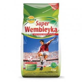 Super Wembleyka - trawa gazonowa odporna na wydeptywanie - Planta - 5 kg