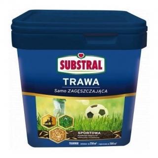 Trawa SAMOZAGĘSZCZAJĄCA - sportowa - Substral - 15 kg - na 600 m²