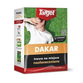 Dakar - trawa na miejsca nasłonecznione - Target - 15 kg - na 600 m²