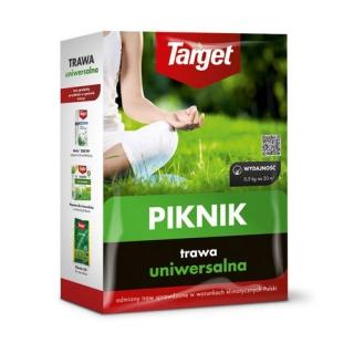 Piknik - trawa uniwersalna na tereny przydomowe - Target - 15 kg - na 600 m²